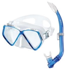 Набор для дайвинга детский (маска+трубка) Mares Zephir Jr, синий (411730/BL)