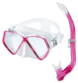 Набор для дайвинга детский (маска+трубка) Mares Zephir Jr, розовый (411730/PK)