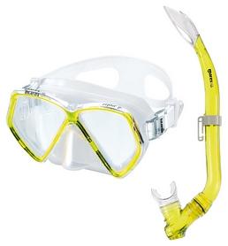 Набор для дайвинга детский (маска+трубка) Mares Zephir Jr, желтый (411730/YL)