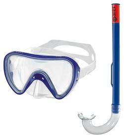 Набор для дайвинга детский (маска+трубка) Mares Tortuga, синий (411732/CL.BL)