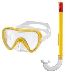 Набор для дайвинга детский (маска+трубка) Mares Tortuga, желтый (411732/CL.YL)