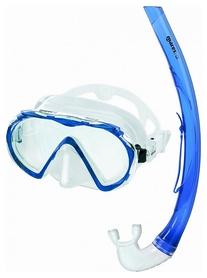 Набор для дайвинга (маска+трубка) Mares Mistral, синий (411738/CL.BL)