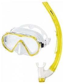 Набор для дайвинга (маска+трубка) Mares Mistral, желтый (411738/CL.YL)