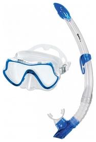 Набор для дайвинга (маска+трубка) Mares Shore, синий (411739/CL.BL)