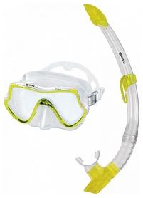 Набор для дайвинга (маска+трубка) Mares Shore, желтый (411739/CL.YL)