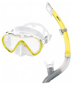 Набор для дайвинга (маска+трубка) Mares Vento, желтый (411746/YL)
