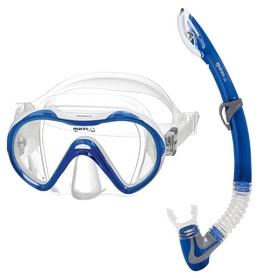 Набор для дайвинга детский (маска+трубка) Mares Vento Jr, синий (411748.SFBLWCL)