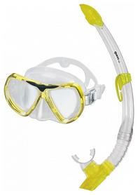 Набор для дайвинга (маска+трубка) Mares Kona, желтый (411756/CL.YL)
