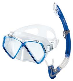 Набор для дайвинга детский (маска+трубка) Mares Pirate, синий (411757/BL)