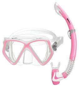 Набор для дайвинга детский (маска+трубка) Mares Pirate, розовый (411757/PK)