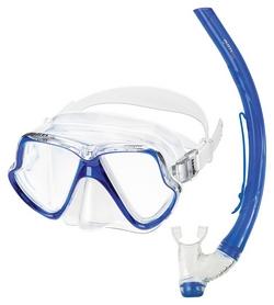 Набор для дайвинга (маска+трубка) Mares Zephir, синий (411769/BL)