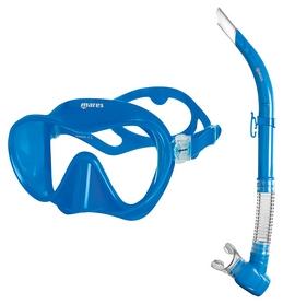 Набор для дайвинга (маска+трубка) Mares Tropical, синий (411776.BL BL)