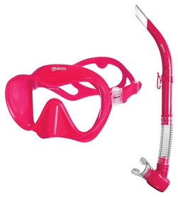 Набор для дайвинга (маска+трубка) Mares Tropical, розовый (411776.PK PK)