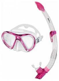 Набор для дайвинга (маска+трубка) Mares Radar+Breezer, розовый (411886/CL.PN)