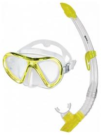 Набор для дайвинга (маска+трубка) Mares Radar+Breezer, желтый (411886/CL.YL)