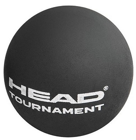 head Мяч для сквоша ТН Head 17 287326 Tournament Squash Ball (SYD) BK (726424349852)