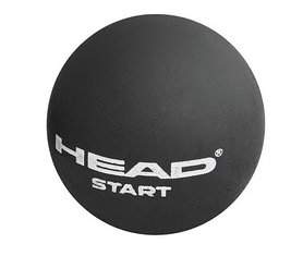 head Мяч для сквоша ТН Head 17 287346 Srart Squash Ball (SWD) BK (726424349876)