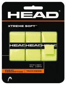 Намотка для теннисной ракетки Head 285104 XtremeSoft Grip Overwrap, dozen 2018, желтый (724794482148)