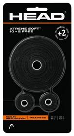 Намотка для теннисной ракетки Head 285036 Xtreme Soft 10 + 2 2018, черная (726423485452)