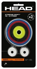 Намотка для теннисной ракетки Head 285036 Xtreme Soft 10 + 2 2018, разноцветная (724794598122)