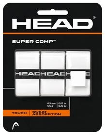 Намотка для теннисной ракетки Head 285088 Super Comp 2018, белая (724794859650)