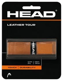 Намотка для теннисной ракетки Head 282010 Leather Tour 2018, коричневая (726423274841)