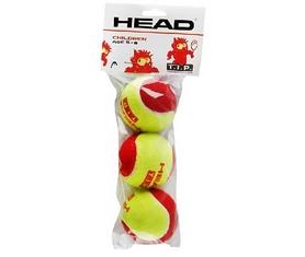 head Мячи для большого тенниса ТН Head 18 578113 3B Head Tip red - 4DZ, 3 шт (72489781138)