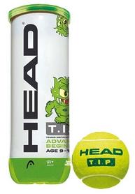 head Мячи для большого тенниса ТН Head 18 578113 3B Head Tip green - 6DZ, 3 шт (72489781336)