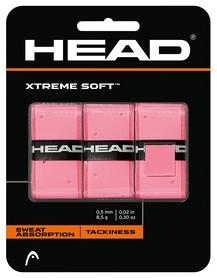 Намотка для теннисной ракетки Head 285104 XtremeSoft Grip Overwrap, dozen 2018, розовый (726424272167)