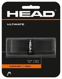 Намотка для теннисной ракетки Head 285507 Ultimate 2018, черная (726424502318)