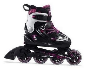 Коньки роликовые детские Fila X-One, фиолетовые (010618145)