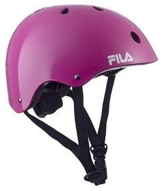 Шлем защитный Fila 2018 Nrk Fun Helmet, фиолетовый (60750930)
