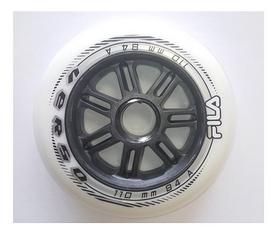 Набор колес для роликовых коньков Fila Wheels, 6 шт (60760286)