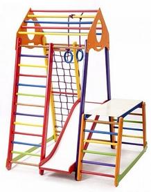 Фото 2 к товару Комплекс спортивный детский SportBaby BambinoWood Color Plus 1-1