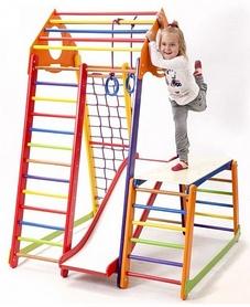 Фото 5 к товару Комплекс спортивный детский SportBaby BambinoWood Color Plus 1-1