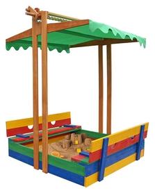 Песочница деревянная SportBaby SB-pesoch-10