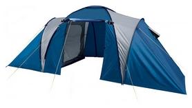 Палатка четырехместная Trek Planet Toledo Twin 4, синяя(20048220070116)