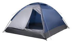 Палатка трехместная Trek Planet Lite Dome 3, синяя (20048220070122)
