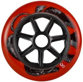 Колесо для роликов Powerslide Python Red (Full Radius) 406133 - 125mm/88a, красное (4040333461334)