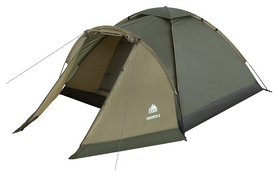 Палатка четырехместная Trek Planet Toronto 4, зеленая (20048220070138)