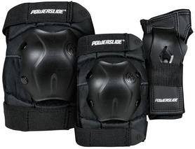 Комплект для защиты коленей, локтей, запястья Powerslide Standard Tri-Pack Men 903239 '2018 (40403334995)