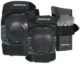Комплект для защиты коленей, локтей, запястья Powerslide Standard Tri-Pack Women 903243 '2018 (40403334996)