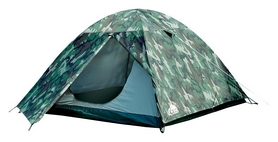 Палатка трехместная Trek Planet Alaska 3, камуфляжная (20048220070160)