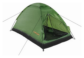 Палатка двухместная Treker MAT-100, зеленая