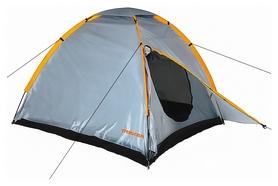 Палатка трехместная Treker MAT-115, серая