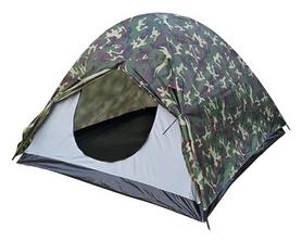 Палатка трехместная Treker MAT-118, камуфляжная