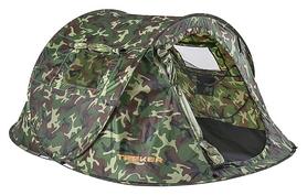 Палатка трехместная Treker MAT-186, камуфляжная