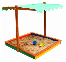 Песочница деревянная SportBaby SB-pesoch-24