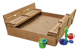 Песочница деревянная SportBaby SB-pesoch-28