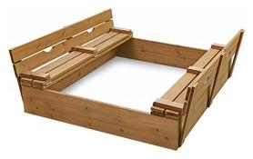 Песочница деревянная SportBaby SB-pesoch-3
